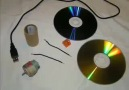 How to make a fan from old CD