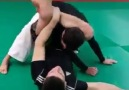 How to set up a triangle choke from the back position!!