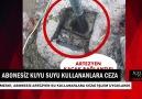Içeltv Mersin - Abonesiz artezyen su kullananlara ceza uyarısı Facebook
