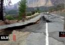 Içeltv Mersin - Silifke&yağmur nedeniyle yol çöktü Facebook