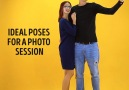 Ideal poses for a photo session