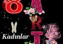 İNCİ - 8 Mart Dünya Emekci Kadınlarımızın Kadınlar Günü...