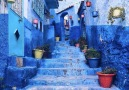 I need to explore this blue city in Morocco