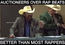 I&never look at Auctioneers the same!