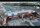 İngiltere' de 1400 tonluk bir köprünün yıkılışı