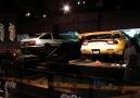 Initial D arcade game with real cars at Sega Jorypolis Tokkyo