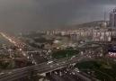 İstanbula çöken karabulutlar...