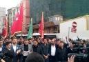İstanbul Alperen Ocakları İl Başkanlığının Mescidi Aksa Yürüyüşü