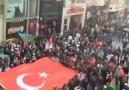 İstanbul Taksim meydanında Xocalı üçün birlşn millt ...