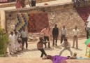 Jackie Chan filming a fight scene in Amber Fort