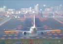 JAL 737-8 Windy take off