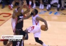 James Harden behind-the-back pass to Terrence Jones