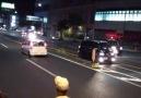 Japanese biker gangs bosozoku taunting police