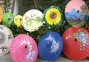 Japon Kağıt Şemsiyelerin Yapımı
