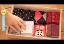 Japonların çorap katlama tekniği