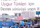 Japonlar Uygur Türklerine Destek için bir kez daha YÜRÜDÜ...