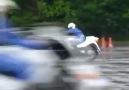 Japon motosikletli polis eğitimleri