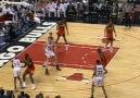 Jordan dunks on Mutombo