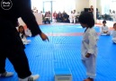 Just want to keep the first moments kids study taekwondo