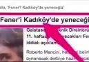 Kadiköyde Fenerbahçeyi yeneceğiz haftası .
