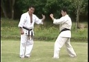 Kancho Hatsuo Royama teaching how to kick mae geri.