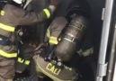Kapalı alan yangınlarında müdahaleye... - Anadolu İtfaiyesi