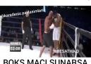 Karadenizli spiker boks maçı sunarsa