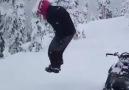 Karda boy veriyorum.