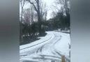 Kartal Yuvasına Kar Yağdı