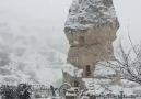 Kar Yağarken Kapadokya