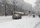 Kar yağışını hiç böyle izlediniz mi?  Mükemmel (Ağır çekim)