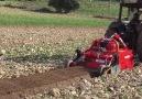 Kayalık tarlayı tarım alanına dönüştüren muhteşem bir makina O