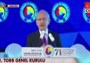 Kemal Kılıçdaroğlu TOBB konuşması