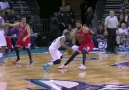 Kemba with the cross
