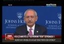 """Kılıçdaroğlu'na """"ABD"""" ziyaretlerinde Ermeni Soykırımı sorulur.."""