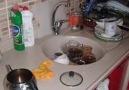 Kimlerin mutfağı böyle elim...