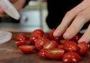 Kitchen Hacks: Cherry Tomatoes