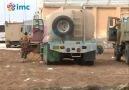 Kobane sınırında bekleyen Peşmergeler