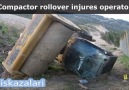 Kompaktör kazası..