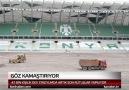Konya'nın yeni stadyumu göz kamaştırıyor