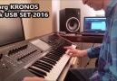 KORG KRONOS - Doruk USB Set Demo (Part 1)