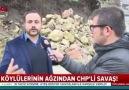 Köylüleri CHP&başkanı anlattı!