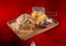 Kremalı Mantarlı Ateş Burger .... - Kahve Ateşi Bağlar