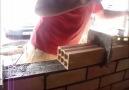 Laying bricks with feedback - laying bricks