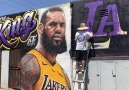 LeBron James is the King of this LA mural