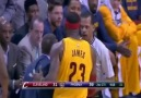 LeBron James SHOVES David Blatt