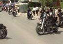 Lefkoşa motosiklet sesleriyle inledi