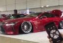 Lexus LC500 sitting perfect on bags! Via T-DEMAND