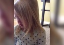 Little Girl Refuses To Admit She's Crying