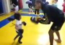 Little girl with amazing MMA skills!